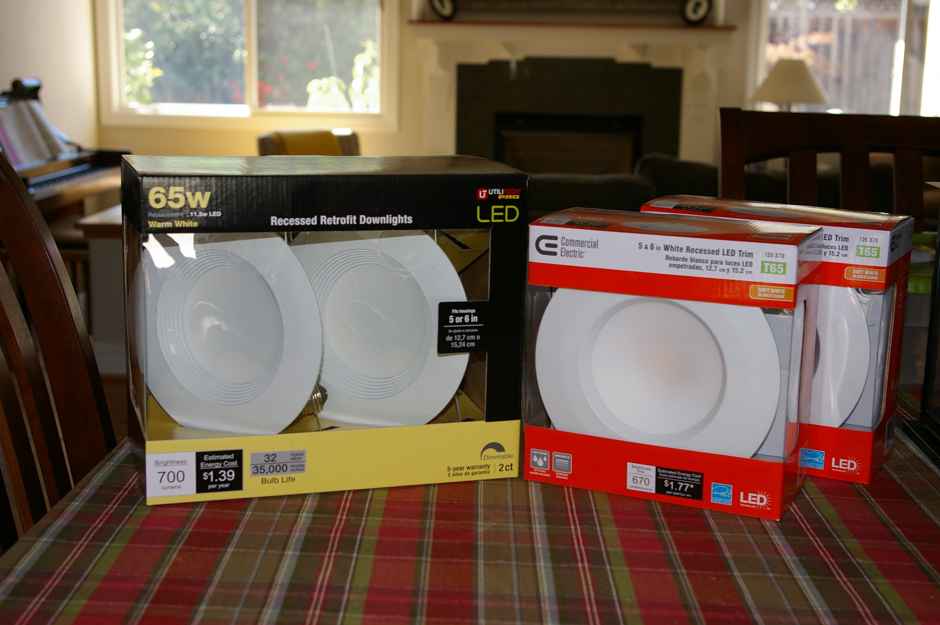 Led recessed lighting shootout home depot vs lowes vs costco